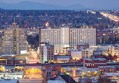 Explore Downtown Spokane