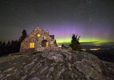 Mt. Spokane Vista House
