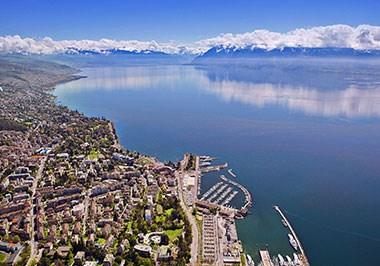 Lausanne Cityscape