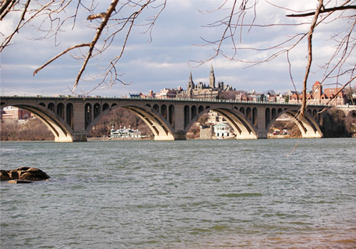 Key Bridge over the Potomac River