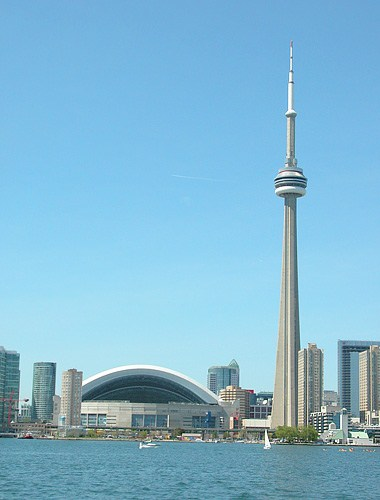 CN Tower and Rogers Centre
