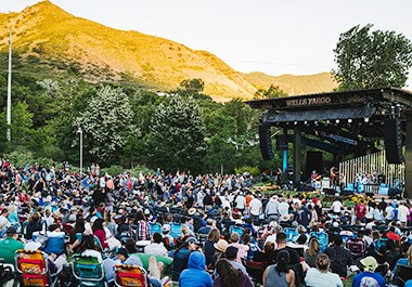 Outdoor Concert at Red Butte Botanical Garden