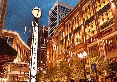 Shopping and Dining at City Creek Center