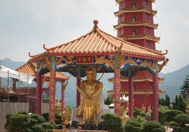 The Ten Thousand Buddhas Monastery