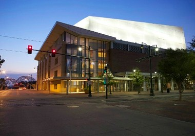 The Cannon Center for the Performing Arts Exterior