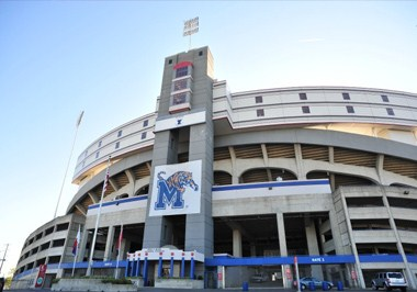 Liberty Bowl Stadium Exterior