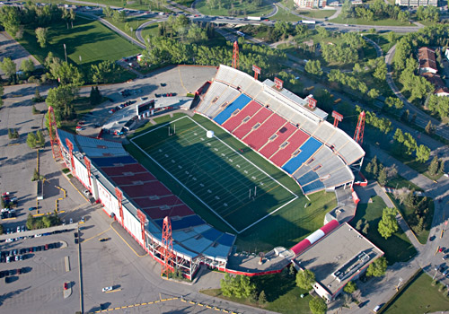 BMO Centre, Home of the Calgary Stampeders