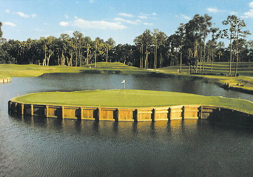 17th Island Green at Sawgrass