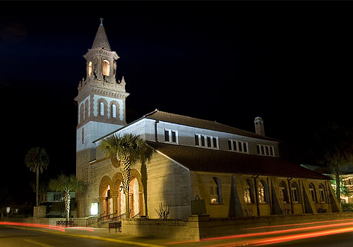 Grace United Methodist Church in St. Augustine