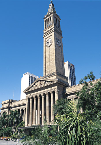 City Hall and King George Square