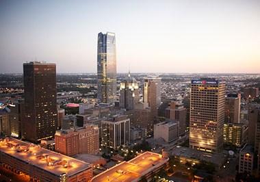 Oklahoma Cityscape