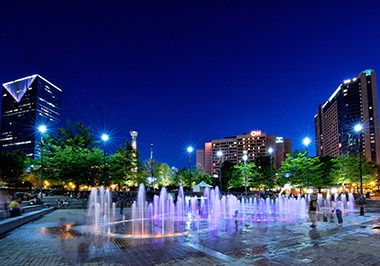 Fountain Rings at Centennial Olympic Park