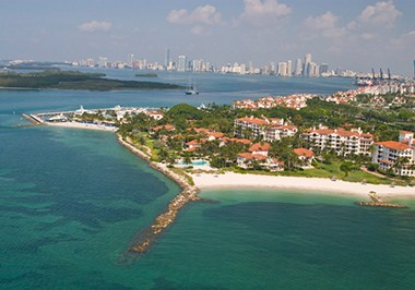 Fisher Island Skyline