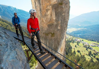 "Historic ""Pinut"" via ferrata"