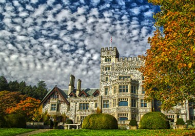 Hatley Castle-Fall