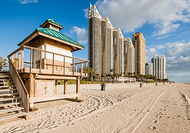 Sunny Isles Beach Lifeguard Stand