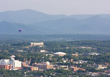 Charlottesville Cityscape
