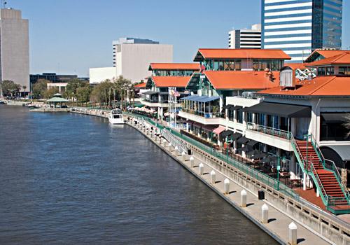 Riverfront Area Jacksonville
