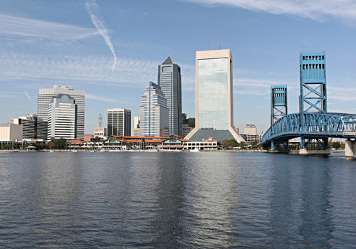 Jacksonville Skyline Downtown