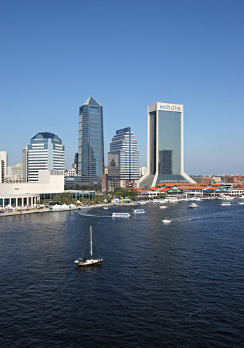 St Johns River Downtown Jacksonville