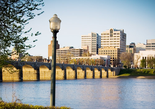 Harrisburg City from Riverfront Park