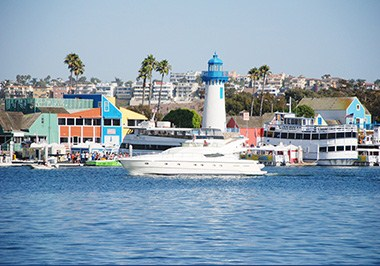 Nautical Village and Lighthouse, Marina del Rey
