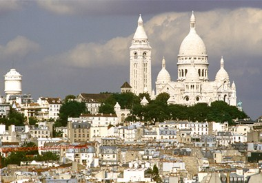 Roofs of Paris Le Sacre-Coeur
