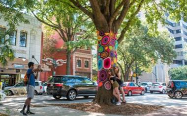 Public art is everywhere in Columbia SC