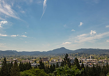 Downtown Eugene View