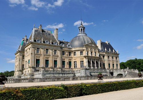 Chéteau de Vaux-le-Vicomte in Maincy, France