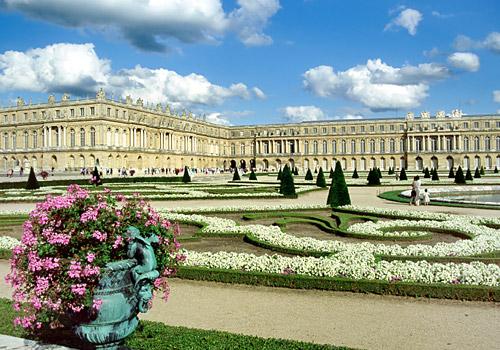 Château de Versailles in Versailles, France
