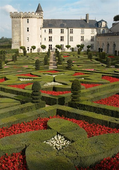 Jardins de Villandry in the Loire Valley