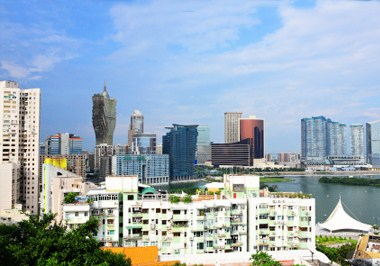 Downtown Macau