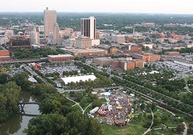 Fort Wayne Cityscape