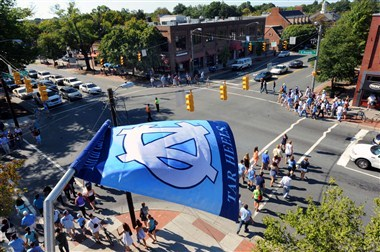 Downtown Franklin Street- Gameday