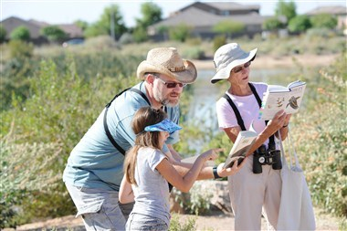 Urban Birding at Veterans Oasis Park