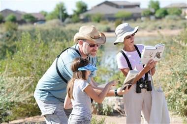 Urban Birding at Veterans Oasis Park