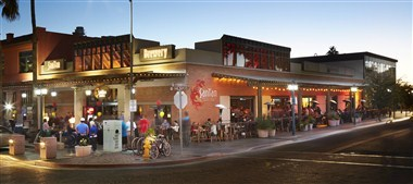 Patio Dining in Downtown Chandler