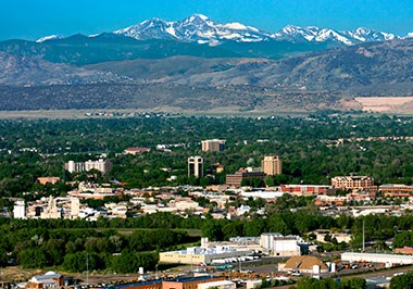 Fort Collins Cityscape