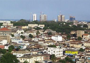 Accra Cityscape