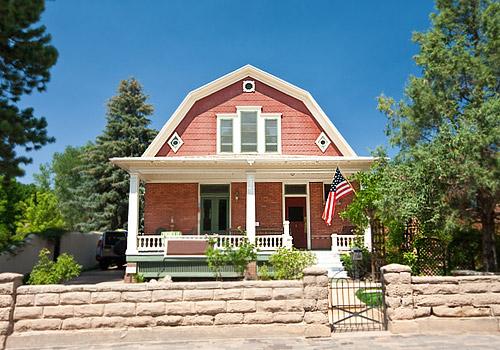 Dutch Colonial Clapboard House