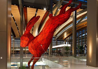 Airport Red Rabbit