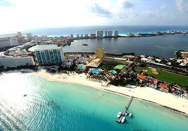 Cancun Cityscape