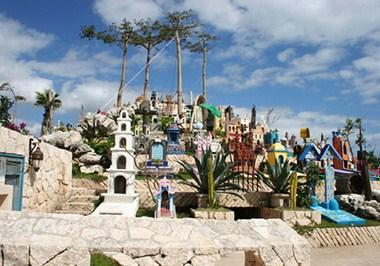 Xcaret Cemetery