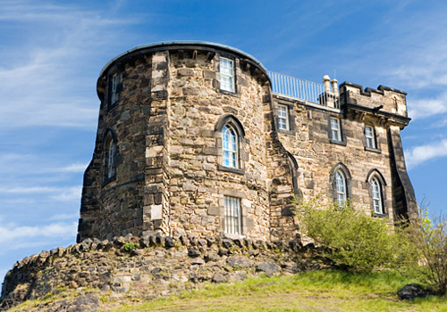Gothic Tower on Calton Hill