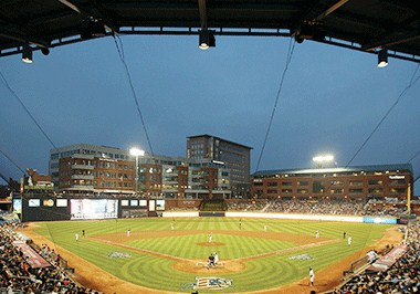 Catch a Bulls game at Durham Bulls Athletic Park