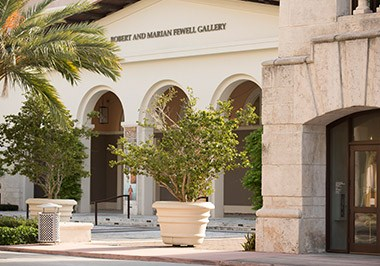 Coral Gables Museum Front View
