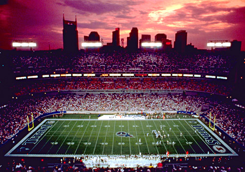 LP Field - Home of NFL's Tennessee Titans