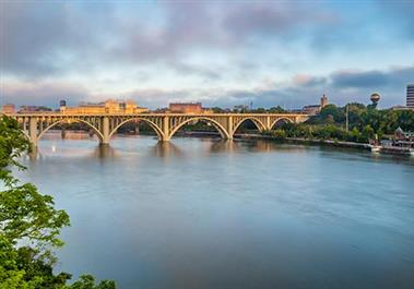 Henley Street Bridge Downtown Knoxville