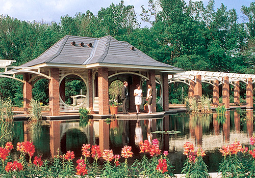 Aquatic Garden at Huntsville Botanical Garden